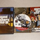 GRAND THEFT AUTO 3 III PS2 PLAYSTATION 2 100% COMPLETE