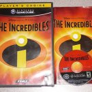 THE INCREDIBLES DISNEY GAMECUBE 100% COMPLETE PLAYS WII