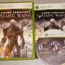 ENEMY TERRITORY QUAKE WARS 100% COMPLETE XBOX 360