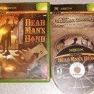 DEAD MAN'S HAND ATARI XBOX 100% COMPLETE