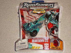 TRANSFORMERS CYBERTRON BRAKEDOWN GTA NEW SEALED RID