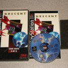 DESCENT ORIGINAL PS1 100% COMPLETE LONG BOX VERSION