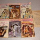 WOMAN'S WEEKLY LIBRARY VINTAGE BOOK LOT OF 7 ROMANCE