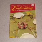 COATS & CLARK'S EMBROIDERY BOOK #119 W/ TRANSFERS 1960