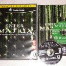 ENTER THE MATRIX 2 DISC ATARI NINTENDO GAMECUBE WII