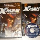 X MEN XMEN LEGENDS NINTENDO GAMECUBE COMPLETE 100% WII