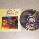 KING'S QUEST VI 6 SIERRA PC IBM CD WIN