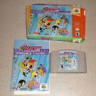 POWERPUFF GIRLS CHEMICAL X-TRACTION N64 100% BOXED