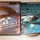 GRAN TURISMO 3 A SPEC PS2 PLAYSTATION 2 100% COMPLETE