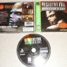 RESIDENT EVIL DIRECTOR'S CUT DUAL SHOCK PS1 COMPLETE