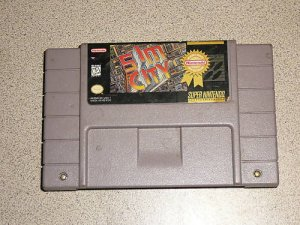 SIMCITY SIM CITY SUPER NINTENDO SNES