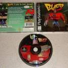 BLASTO BLACK LABEL PLAYSTATION PS1 100% COMPLETE