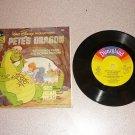 PETE'S DRAGON DISNEY 33 1/3 RPM RECORD BOOK SET