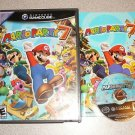 MARIO PARTY 7 NINTENDO GAMECUBE 100% COMPLETE