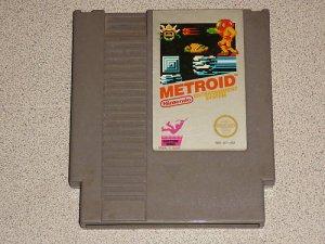 METROID ORIGINAL CLASSIC GAME NINTENDO NES SYSTEM