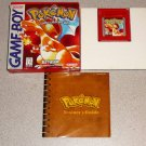 POKEMON RED VERSION COMPLETE BOXED GAMEBOY SAVES