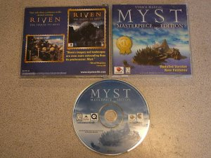 MYST MASTERPIECE EDITION PC CD ROM UPDATED VERSION