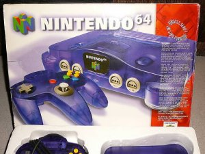 GRAPE SYSTEM N64 NINTENDO 64 BOXED COMPLETE