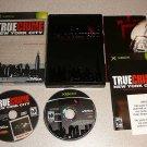 TRUE CRIIME NEW YORK CITY COLLECTOR EDITION XBOX 100%