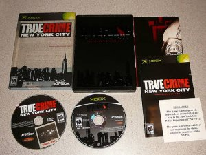TRUE CRIIME NEW YORK CITY COLLECTOR EDITION XBOX 100%