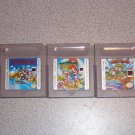 MARIO LAND 1 2 3 NINTENDO GAMEBOY SP COLOR 3 GAMES