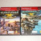 SOCOM US NAVY SEALS 1 & 2 PS2 100% COMPLETE 2 GAME SET