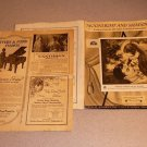 MOONLIGHT AND SHADOWS SHEET MUSIC VINTAGE SET 1936