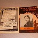 LINGER A LITTLE LONGER IN THE TWILIGHT SHEET MUSIC 1932