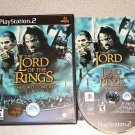 LORD OF THE RINGS TWO TOWERS PS2 100% COMPLETE