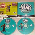 THE SIMS UNLEASHED EXPANSION EA GAMES GAME PC CD