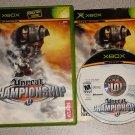 UNREAL CHAMPIONSHIP 1 & 2 XBOX 100% COMPLETE 2 GAMES