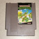TEENAGE MUTANT NINJA TURTLES TMNT NINTENDO NES SYSTEM