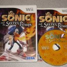 SONIC & THE SECRET RINGS NINTENDO WII 100% COMPLETE FUN