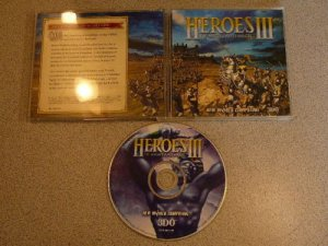 HEROES OF MIGHT & MAGIC III 3 PC CD ROM
