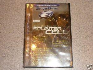 SPLINTER CELL SKARKBYTE CHEAT NEW PS2 PLAYSTATION 2