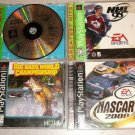 COOL BOARDERS 4 NASCAR 2000 BIG BASS NHL 98 4 GAMES PS1
