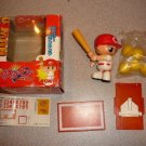 YAKYU MAN TOMY BOXED BATTER UP BASEBALL SWINGING TOY