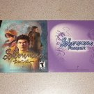 SHENMUE FRENCH DREAMCAST INSTRUCTION PASSPORT FRANCAIS