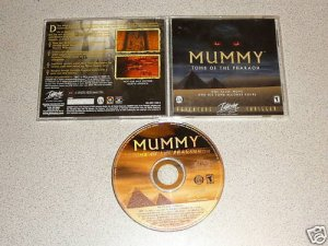 MUMMY TOMB OF THE PHARAOH PC IBM CD ROM