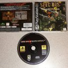 SPEC OPS STEALTH PATROL PS1 100% COMPLETE MINT