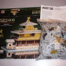 3-D WREBBIT 3D PUZZLE KINKAKU-JI THE GOLDEN TEMPLE