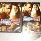 SMACKDOWN VS RAW 2009 PS2 PLAYSTATION 2 100% COMPLETE