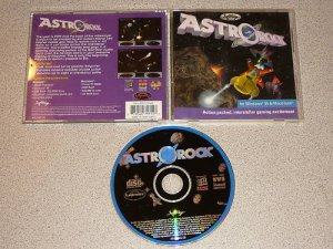 ASTROROCK ASTRO ROCK PC CD ROM GAME