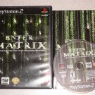 ENTER THE MATRIX PS2 PLAYSTATION 2 COMPLETE 100%