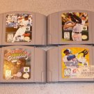 ALL STAR TRIPLE SLUGFEST GRIFFEY BASEBALL 4 GAMES N64