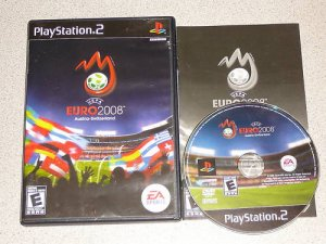 UEFA EURO 2008 EA AUSTRIA SWITZERLAND PS2 100% COMPLETE
