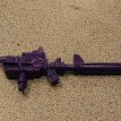 DEVASTATOR LARGE PURPLE GUN 100% G1 TRANSFORMERS ACCS
