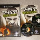 SPLINTER CELL DOUBLE AGENT GAMECUBE 100% PLAYS WII