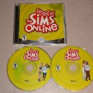 THE SIMS ONLINE PC CD 2 DISC CD KEY INCLUDED