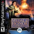 MEDAL HONOR UNDERGROUND BLACK COMPLETE PLAYSTATION PS1